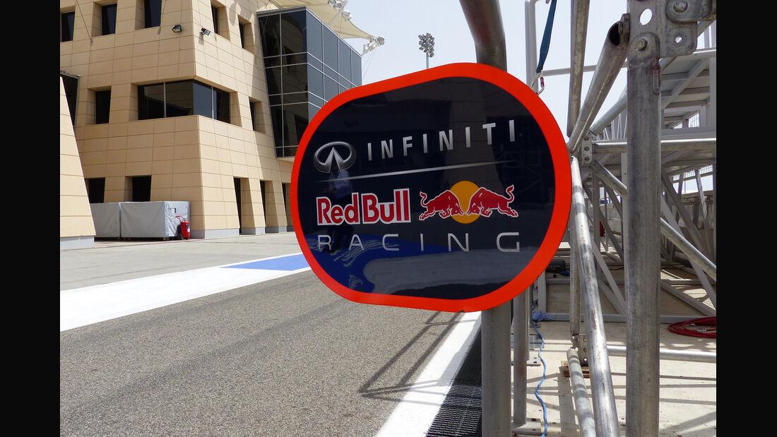 Red Bull - Formel 1 - GP Bahrain - Sakhir - 4. April 2014