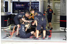 Red Bull - Formel 1 - GP Bahrain - Sakhir - Training - Freitag - 14.4.2017