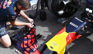 Red Bull - Formel 1 - GP Belgien 2016