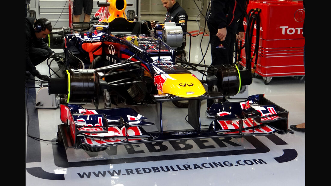 Red Bull - Formel 1 - GP Belgien - Spa - 31.8.2012