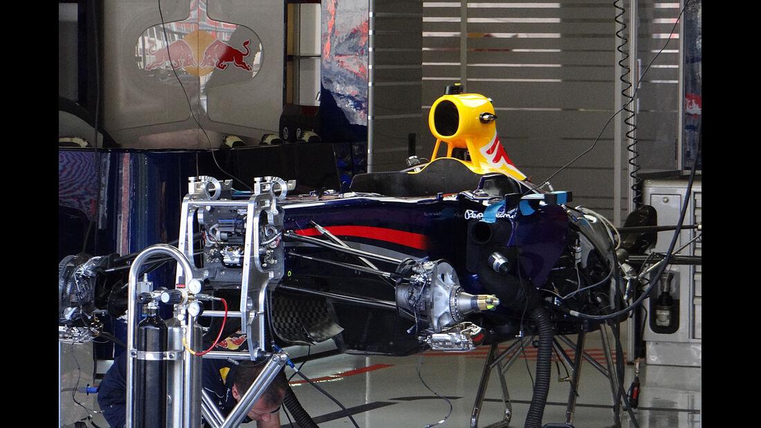 Red Bull - Formel 1 - GP Belgien - Spa-Francorchamps - 22. August 2013