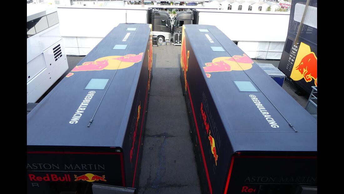 Red Bull - Formel 1 - GP Belgien - Spa-Francorchamps - 22. August 2018