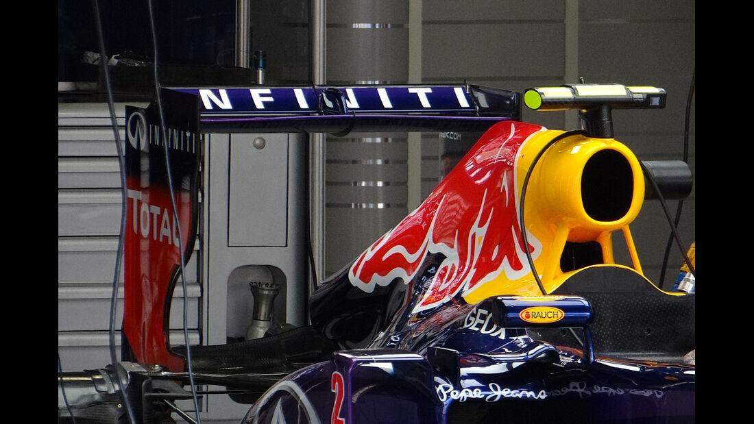Red Bull - Formel 1 - GP Belgien - Spa Francorchamps - 23. August 2013