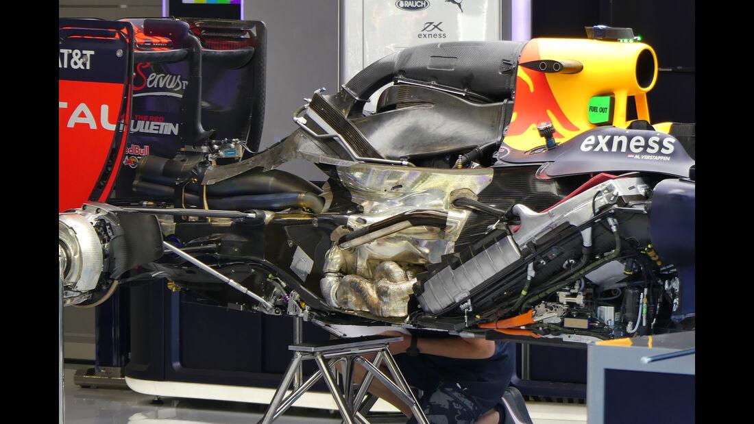Red Bull - Formel 1 - GP Belgien - Spa-Francorchamps - 25. August 2016