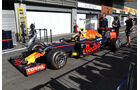 Red Bull - Formel 1 - GP Belgien - Spa-Francorchamps - 25. August 2016