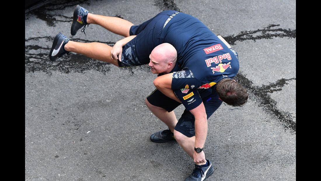 Red Bull - Formel 1 - GP Belgien - Spa-Francorchamps - 26. August 2016