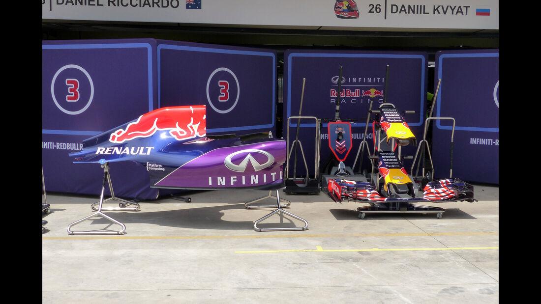 Red Bull - Formel 1 - GP Brasilien- 11. November 2015