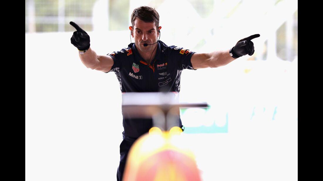 Red Bull - Formel 1 - GP Brasilien - 11. November 2017