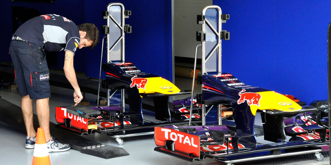 Red Bull - Formel 1 - GP Brasilien - 20. November 2013