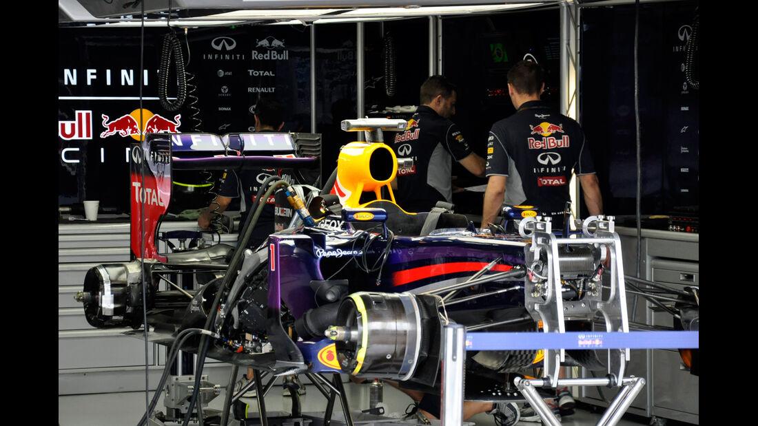 Red Bull - Formel 1 - GP Brasilien - 22. November 2013