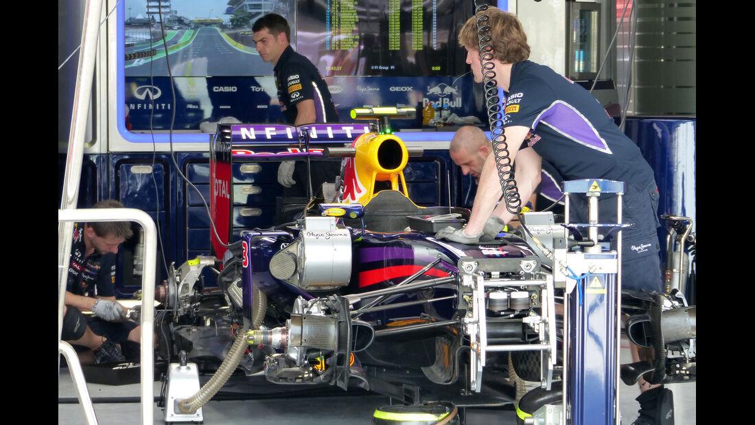 Red Bull - Formel 1 - GP Brasilien- 7. November 2014