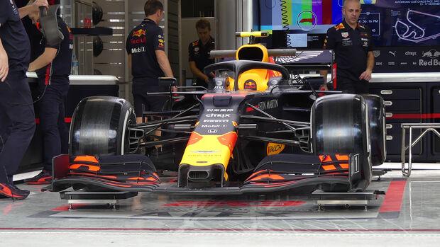 Red Bull - Formel 1 - GP Brasilien - Sao Paulo - 14. November 2019