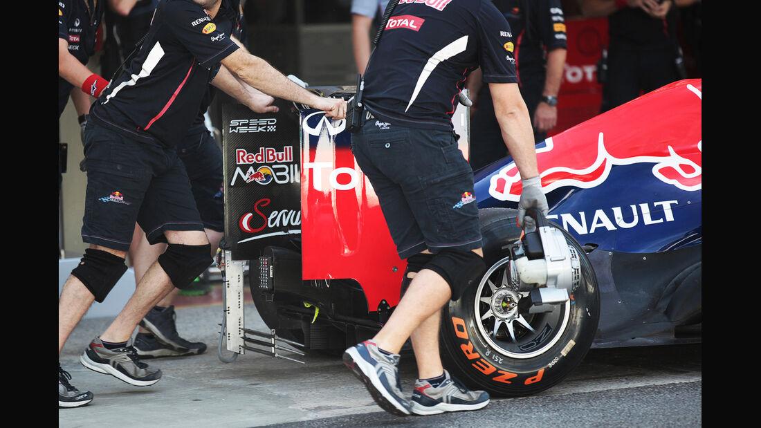 Red Bull - Formel 1 - GP Brasilien - Sao Paulo - 23. November 2012