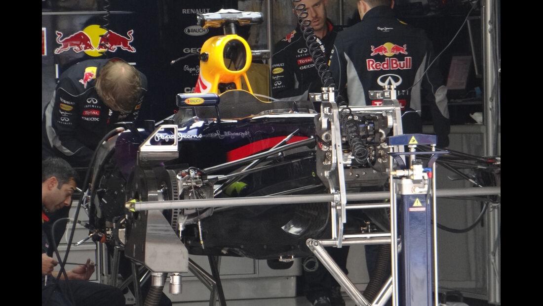 Red Bull - Formel 1 - GP China - 11. April 2013