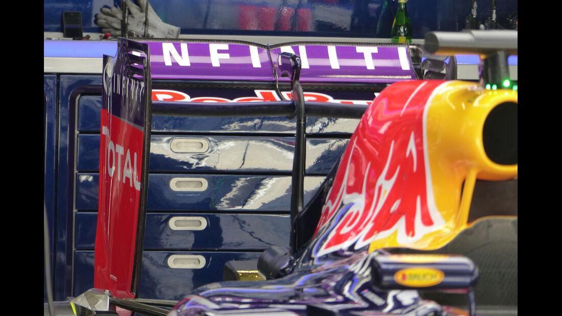 Red Bull - Formel 1 - GP China - Shanghai - 11. April 2015