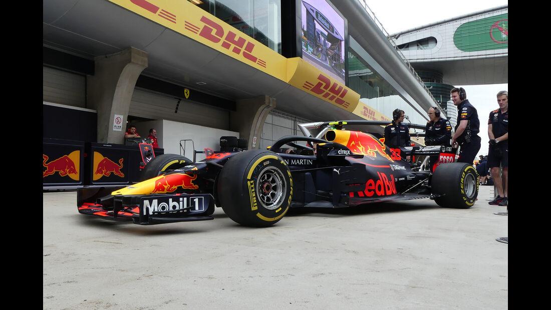 Red Bull - Formel 1 - GP China - Shanghai - 13. April 2017