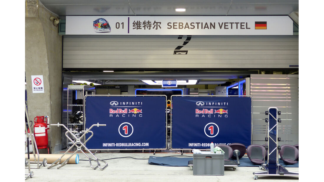 Red Bull - Formel 1 - GP China - Shanghai - 16. April 2014