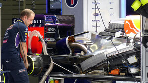 Red Bull - Formel 1 - GP China - Shanghai - 18. April 2014