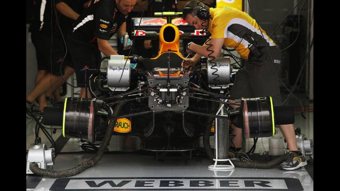 Red Bull - Formel 1 - GP Deutschland - 20. Juli 2012