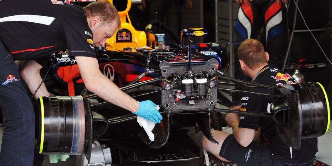 Red Bull - Formel 1 - GP Deutschland - 21. Juli 2012