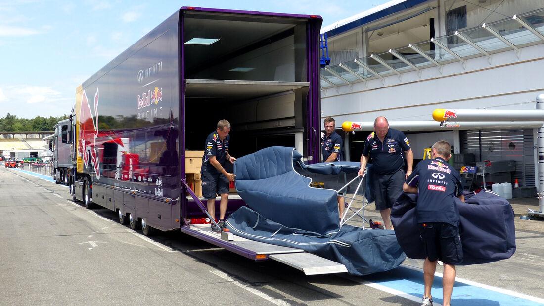 Red Bull - Formel 1 - GP Deutschland - Hockenheim - 16. Juli 2014