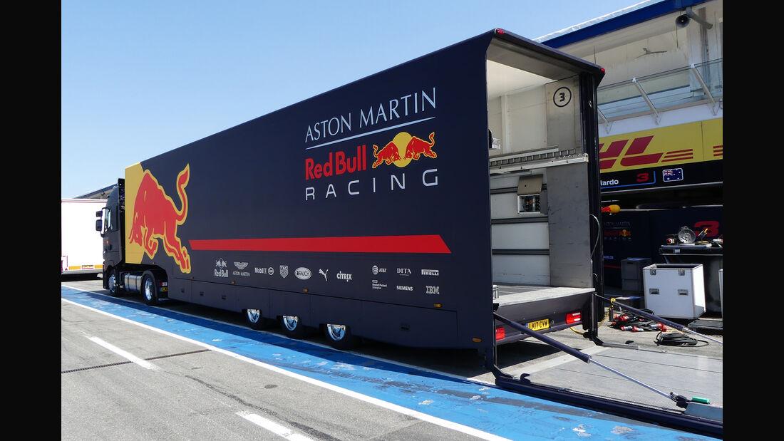 Red Bull - Formel 1 - GP Deutschland - Hockenheim - 18. Juli 2018