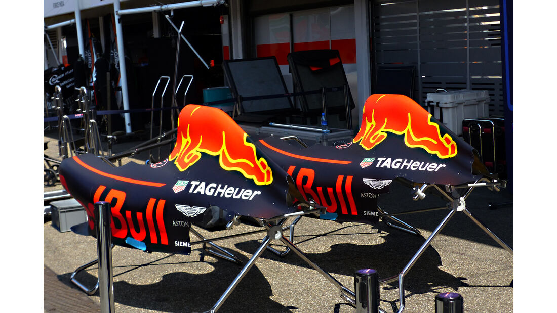 Red Bull - Formel 1 - GP Deutschland - Hockenheim - 27. Juli 2016