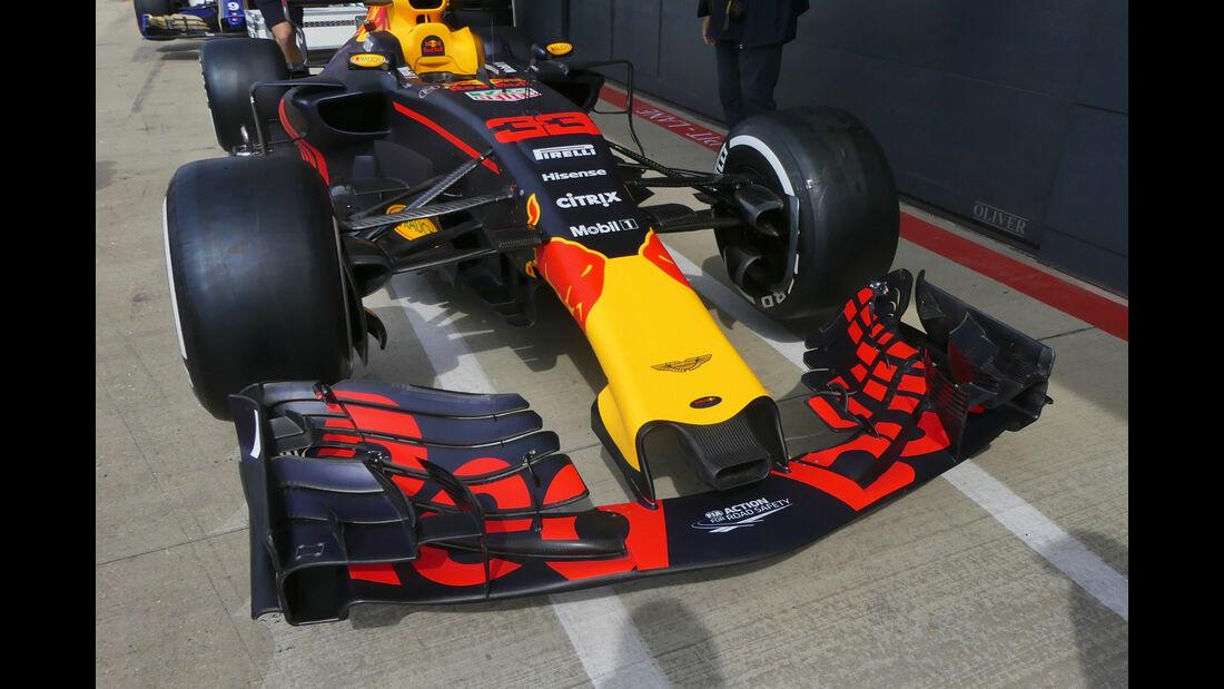 Red Bull - Formel 1 - GP England - 13. Juli 2017