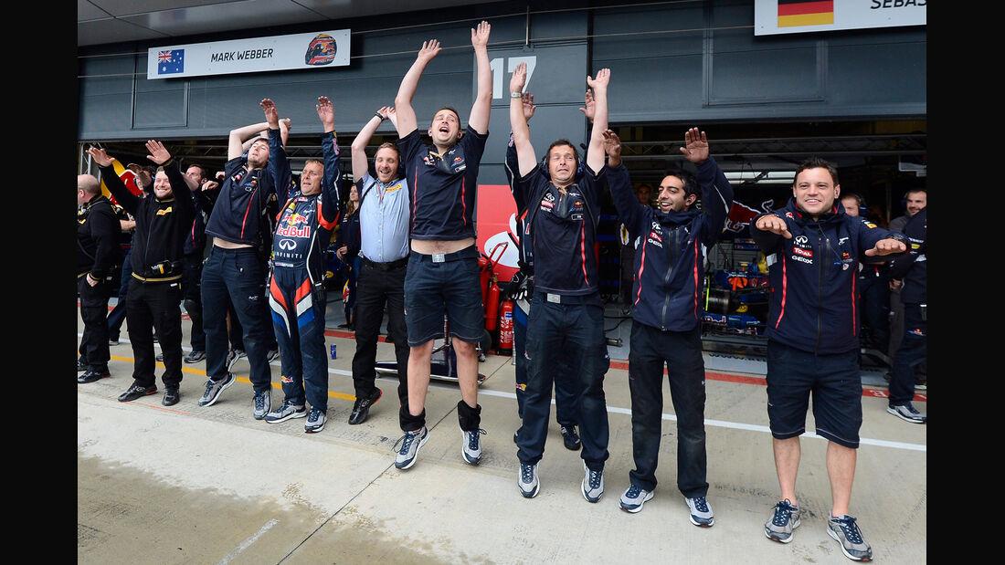 Red Bull - Formel 1 - GP England - Silverstone - 7. Juli 2012
