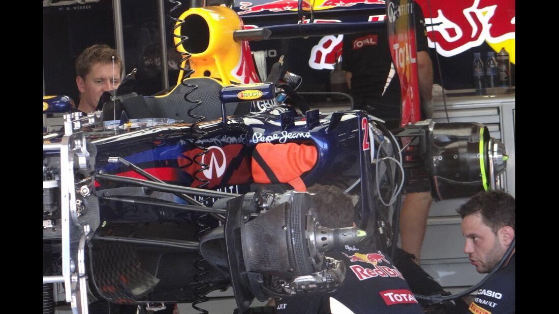 Red Bull  - Formel 1 - GP Europa - 23. Juni 2012