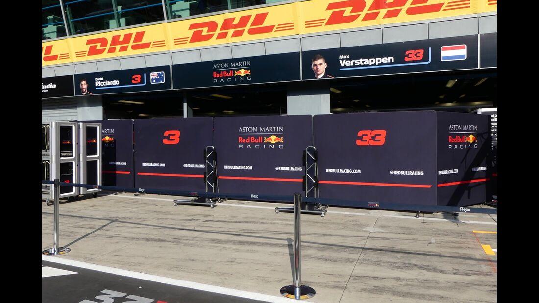 Red Bull - Formel 1 - GP Italien - 29. August 2018