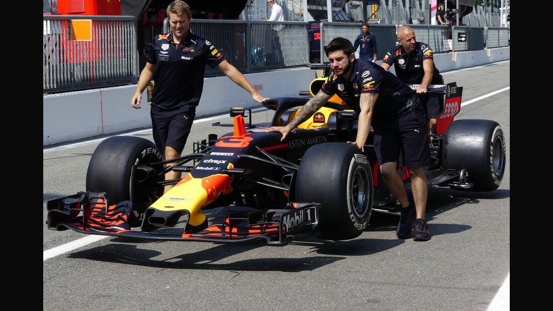 Red Bull - Formel 1 - GP Italien - 30. August 2018