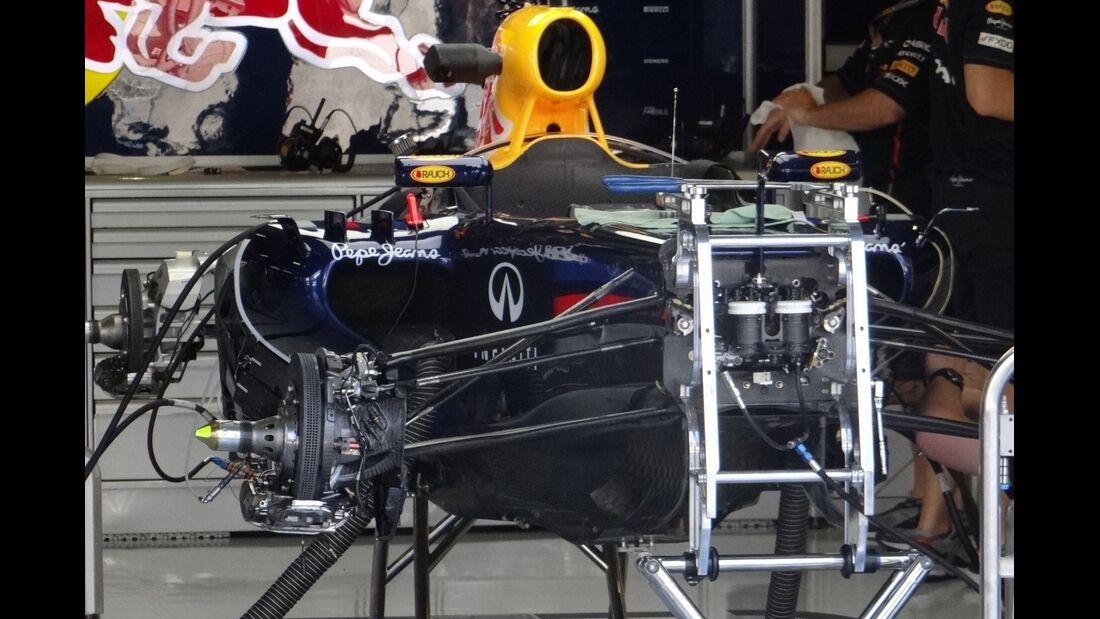 Red Bull - Formel 1 - GP Italien - 6. September 2012