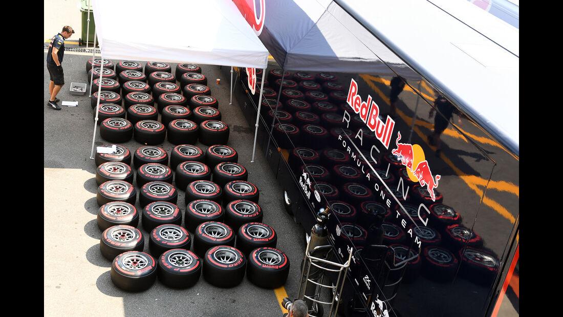 Red Bull - Formel 1 - GP Italien - Monza - 1. September 2016