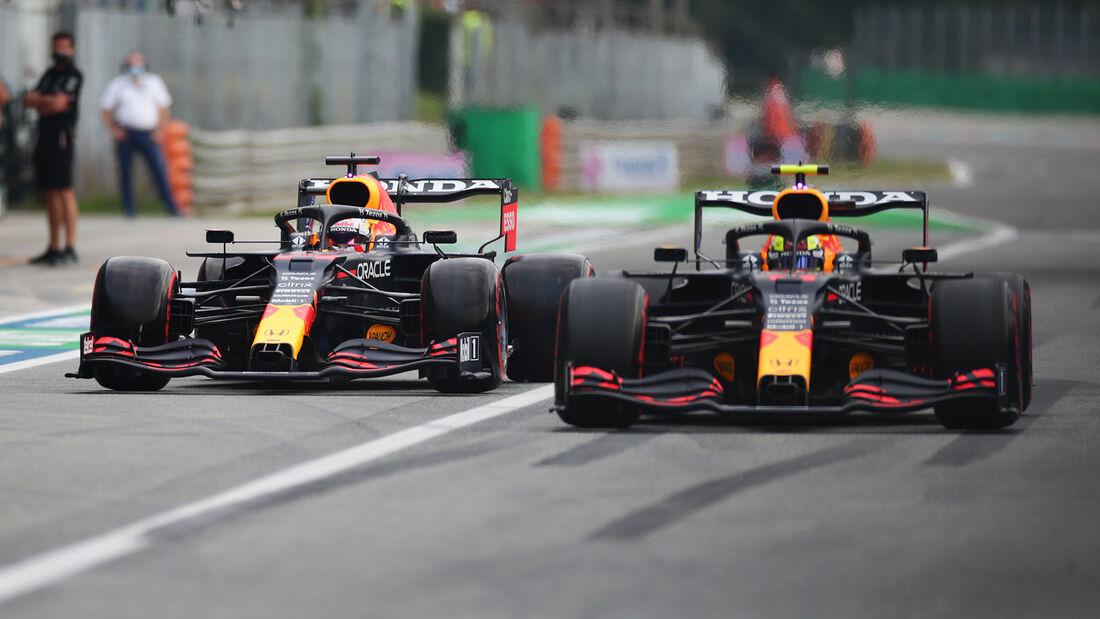 Red Bull - Formel 1 - GP Italien - Monza - 10. September 2021