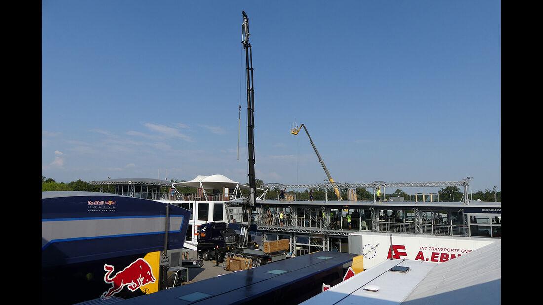 Red Bull - Formel 1  - GP Italien - Monza - 31. August 2016