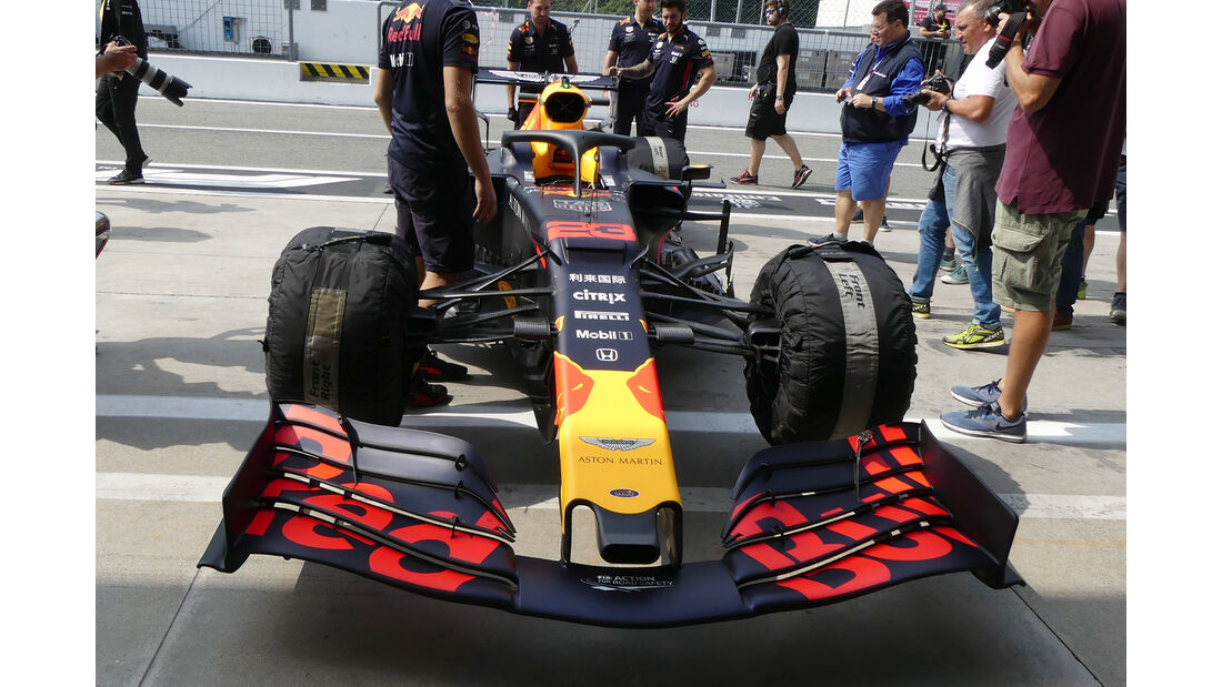Red Bull - Formel 1 - GP Italien - Monza - 5. September 2019