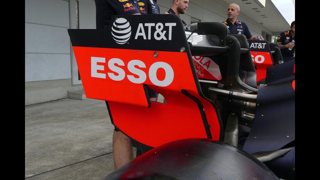 Red Bull - Formel 1 - GP Japan - Suzuka - 10. Oktober 2019