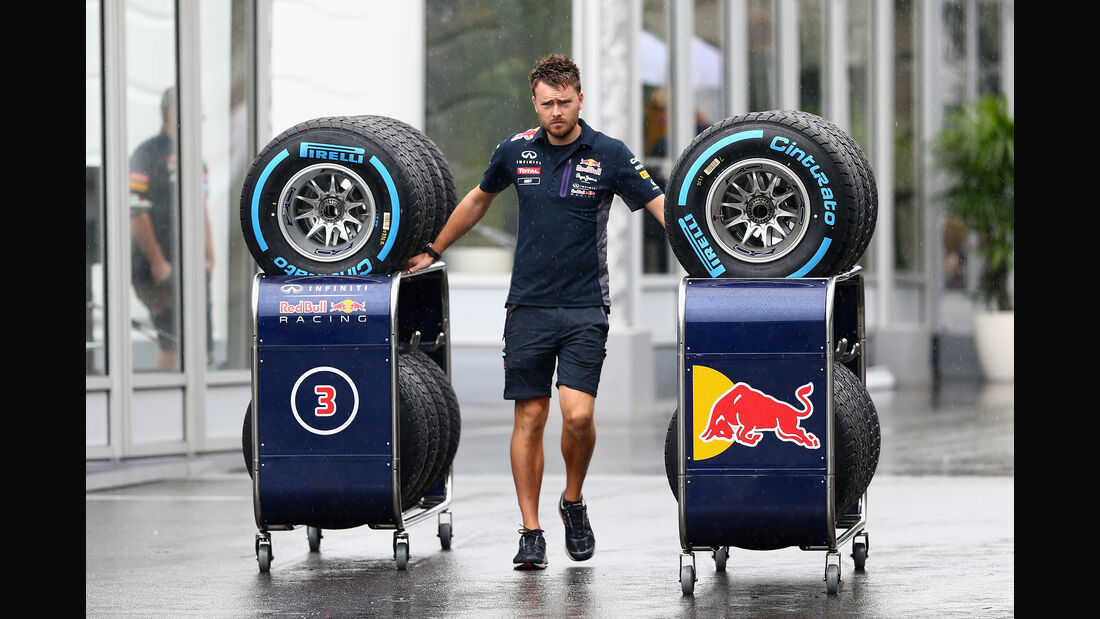 Red Bull - Formel 1 - GP Japan - Suzuka - 25. September 2015