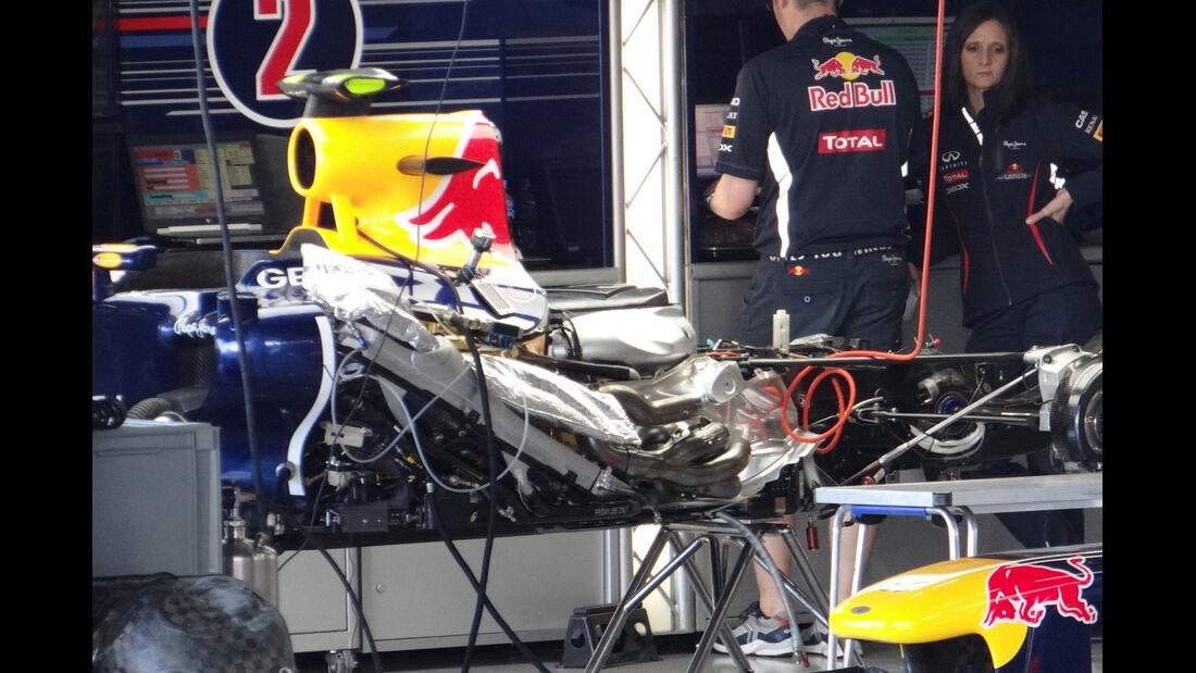 Red Bull - Formel 1 - GP Japan - Suzuka - 4. Oktober 2012