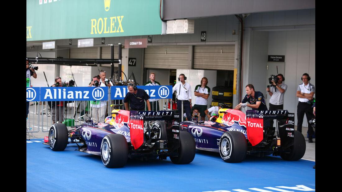 Red Bull - Formel 1 - GP Japan - Suzuka - 4. Oktober 2014