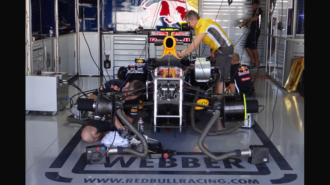 Red Bull - Formel 1 - GP Japan - Suzuka - 5. Oktober 2012
