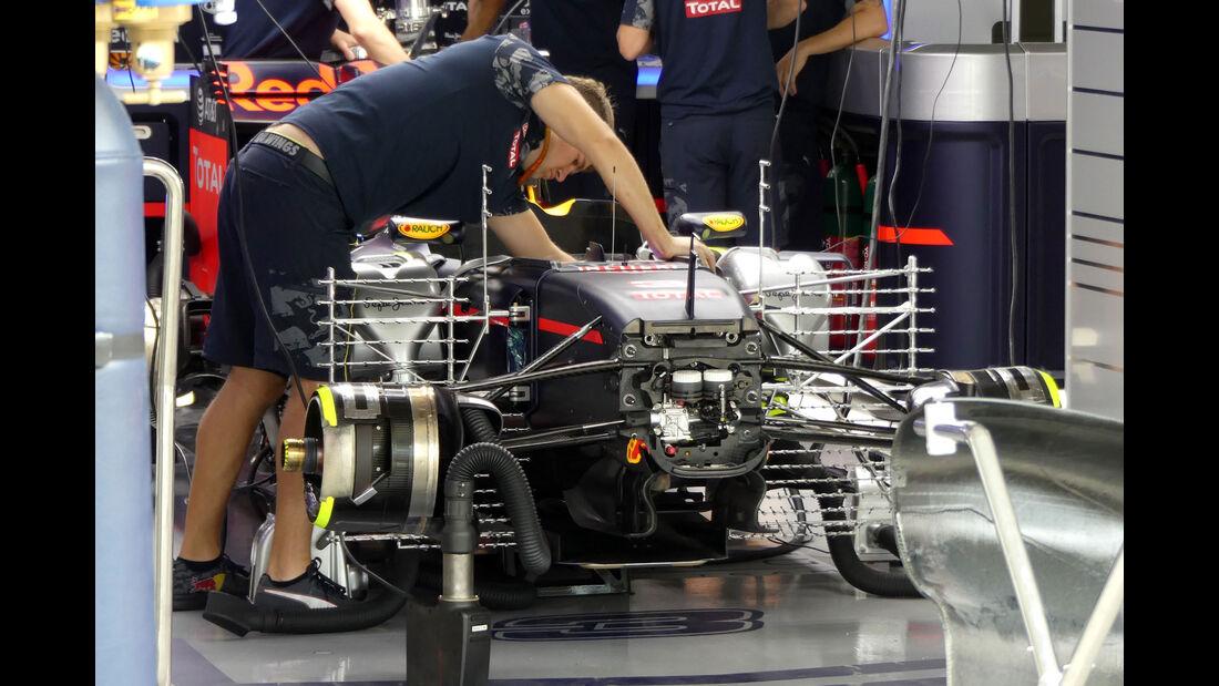 Red Bull - Formel 1 - GP Japan - Suzuka - Freitag - 7.10.2016
