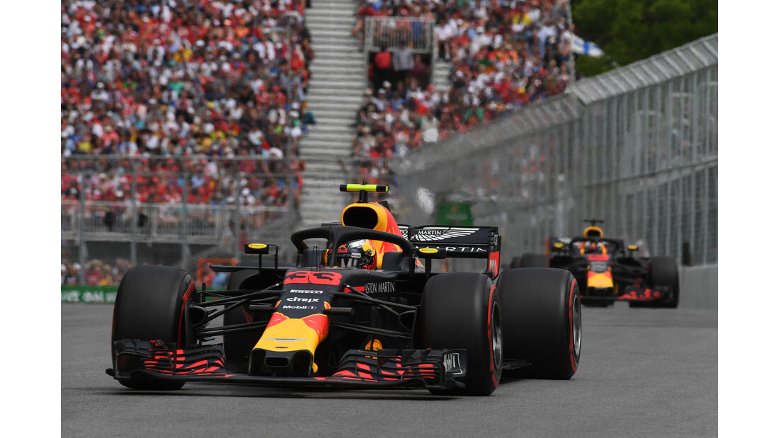 Red Bull - Formel 1 - GP Kanada 2018
