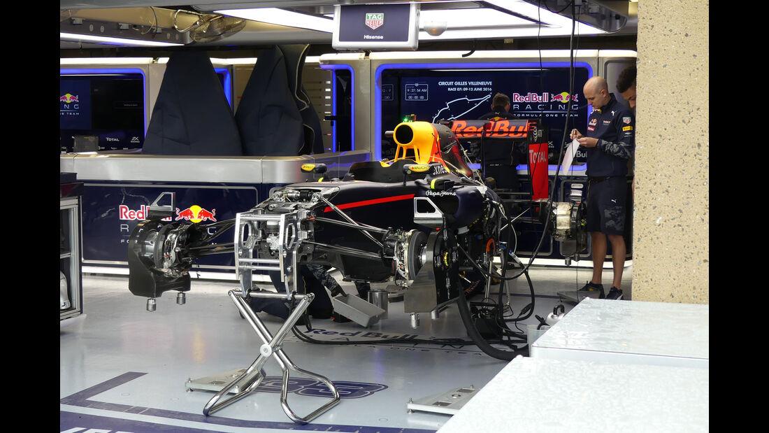 Red Bull - Formel 1 - GP Kanada - Montreal - 9.6.2016
