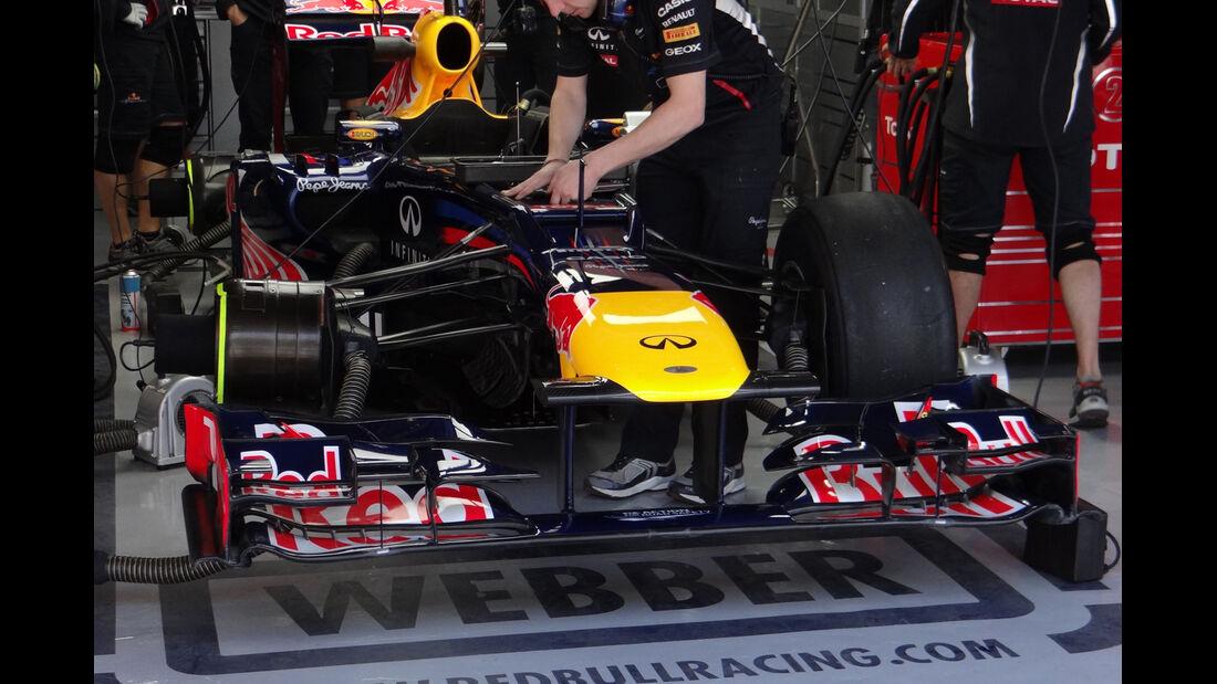 Red Bull - Formel 1 - GP Korea - 12. Oktober 2012