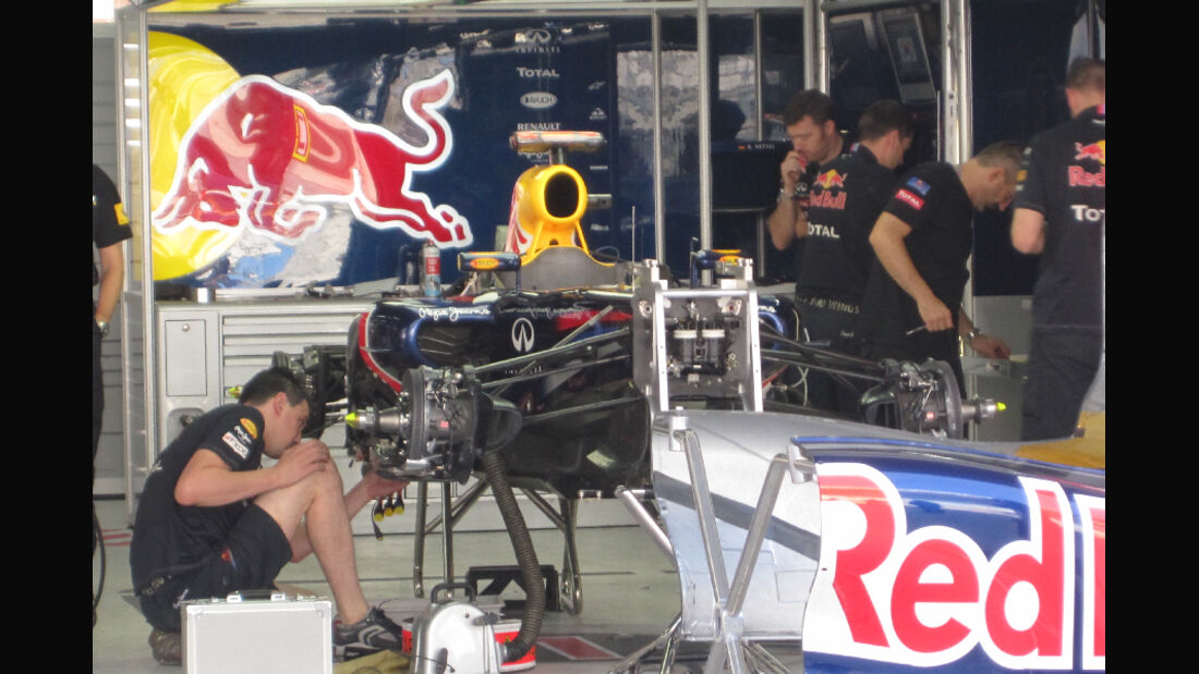 Red Bull - Formel 1 - GP Korea - 13. Oktober 2011