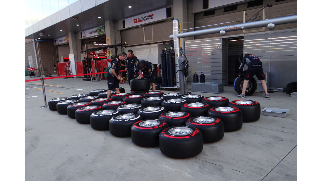Red Bull - Formel 1 - GP Korea - 2. Oktober 2013