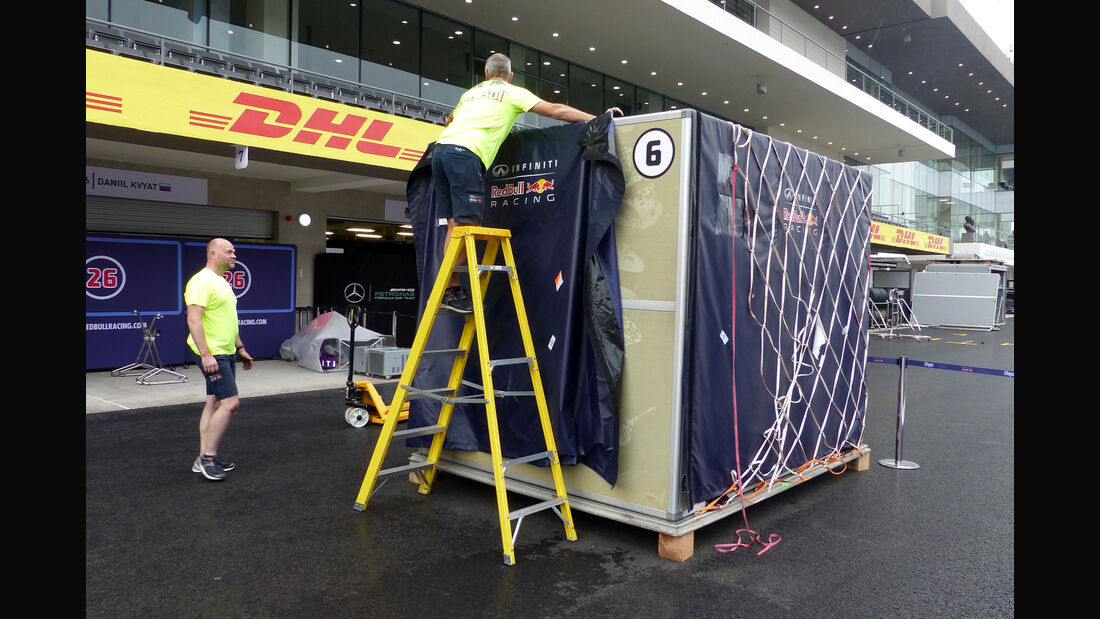 Red Bull - Formel 1 - GP Mexico - 28. Oktober 2015