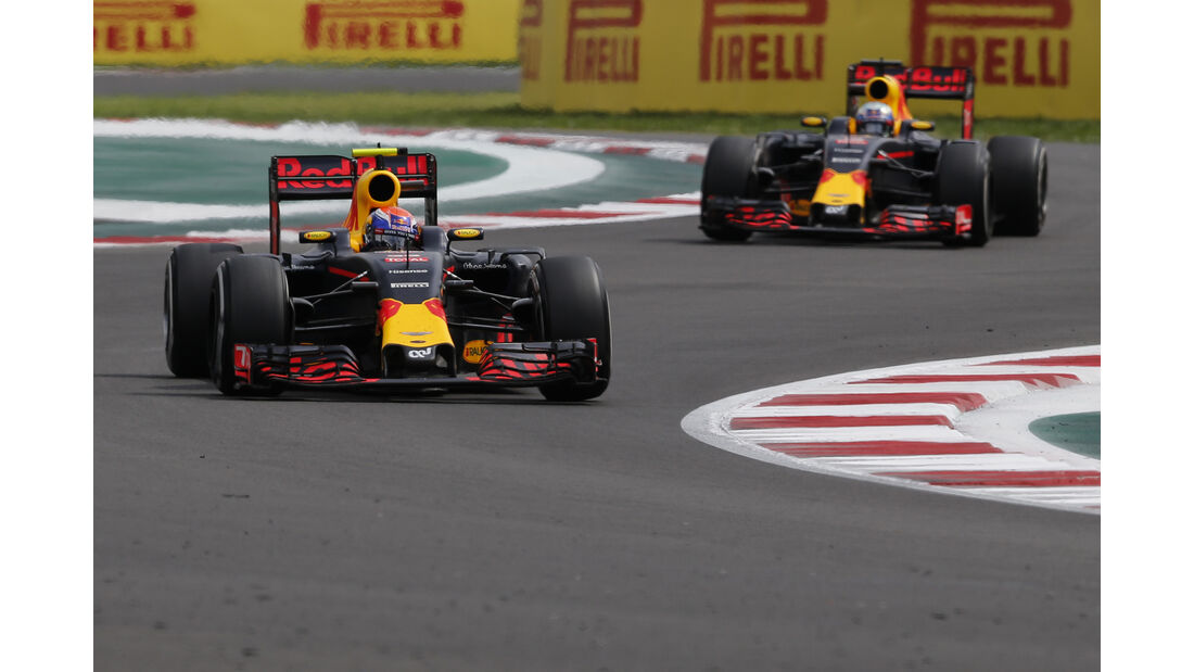 Red Bull - Formel 1 - GP Mexiko 2016
